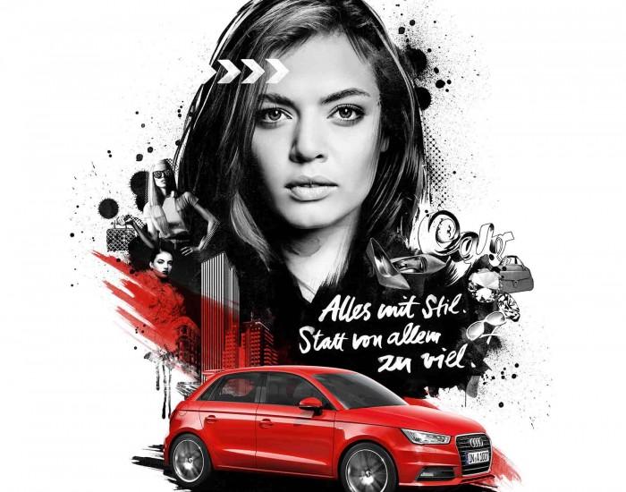 Audi A1 Social Media Campaign
